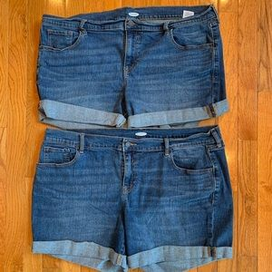 Size 18 Old Navy Jean Shorts
